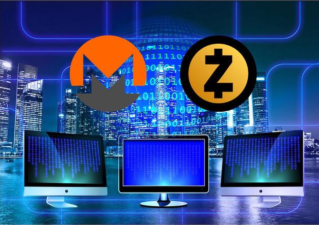monero, dash, zcash, cryptocurrency