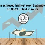 Litecoin Achieved Highest Ever Trading Volume On GDAX