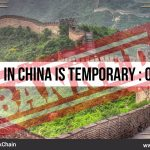 China ICO Ban Official Update – It's only temporary