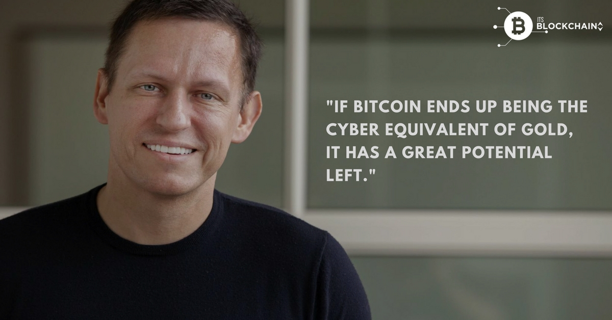 Peter Thiel on Bitcoin