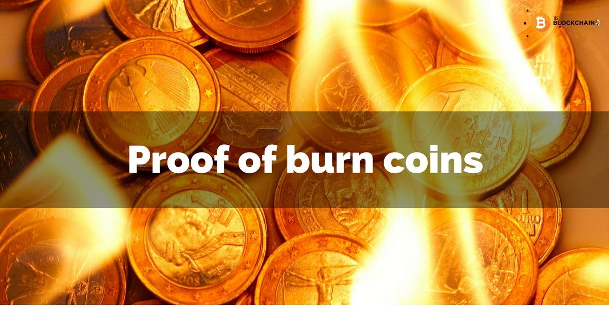 Proof of Burn