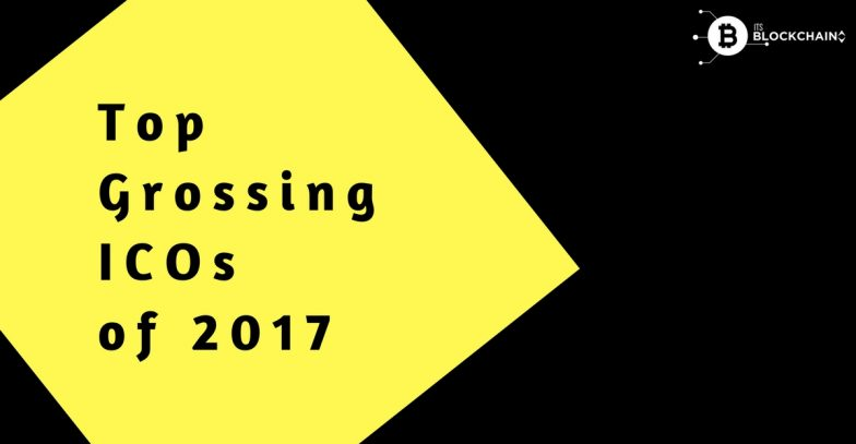 Top Grossing ICOs of 2017
