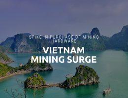Spike in Bitcoin Mining hardware