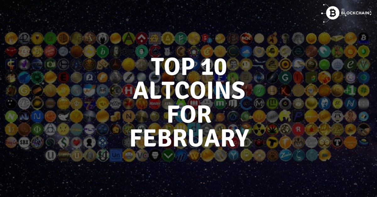 Top 10 altcoins for February