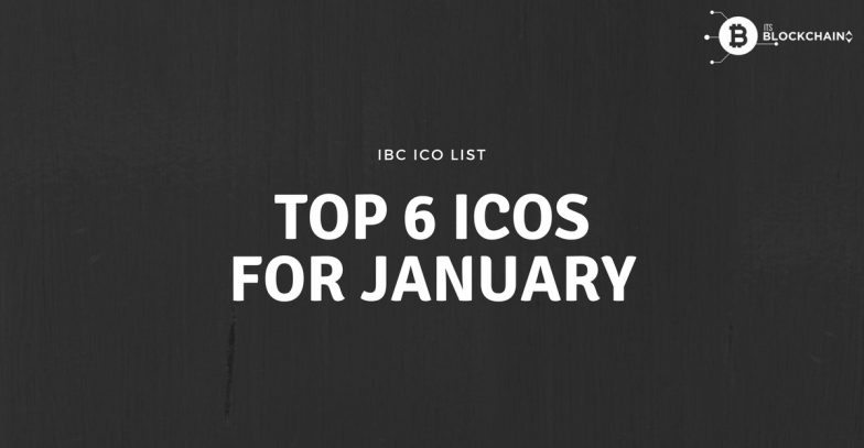 Top 6 ICO for January