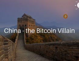 China - the Bitcoin Villain