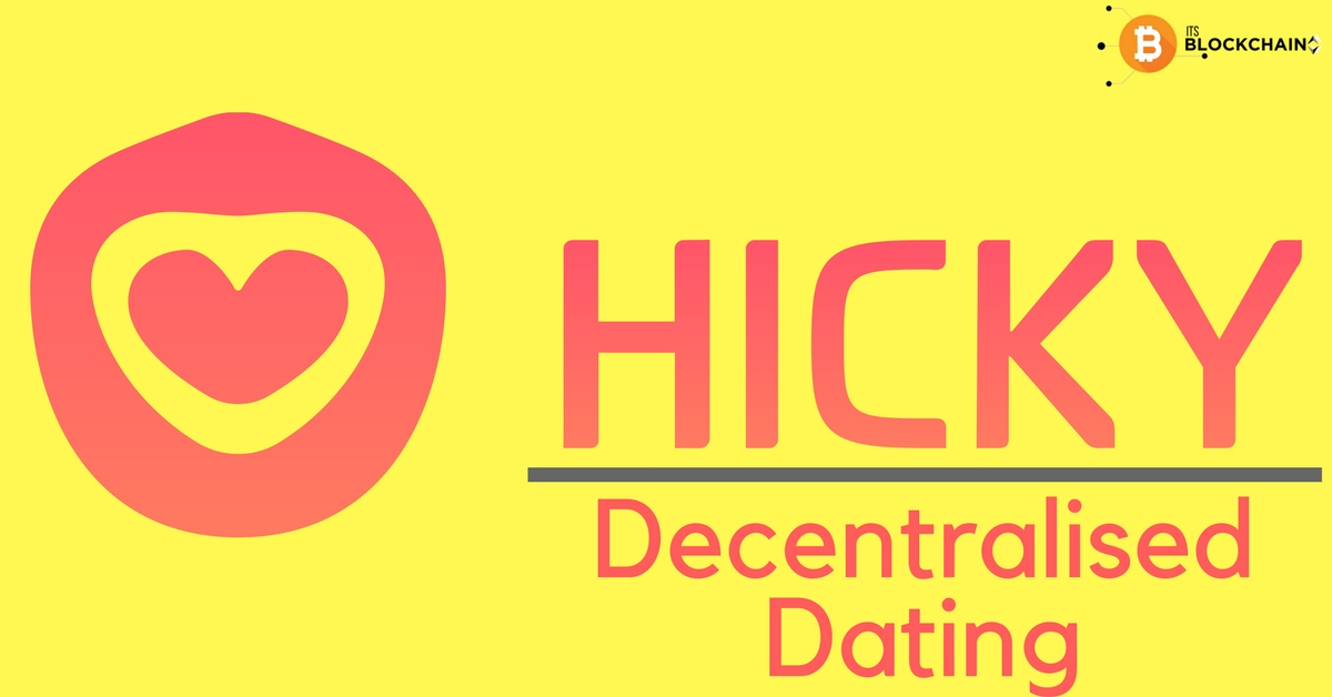 Decentralised Dating