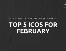Top 5 ICOs February