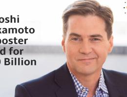 Satoshi Nakamoto imposter Craig Wright sued for $10 Billion
