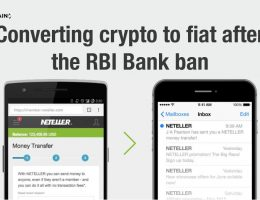 How to convert crypto to fiat if RBI disallows banks to work with exchanges