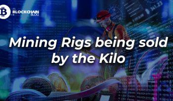 mining rigs sold